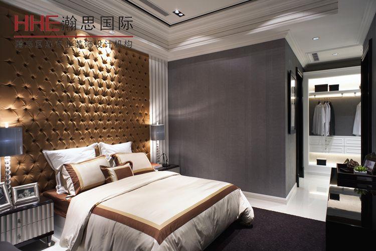 主卧室软包背景墙装修效果图片