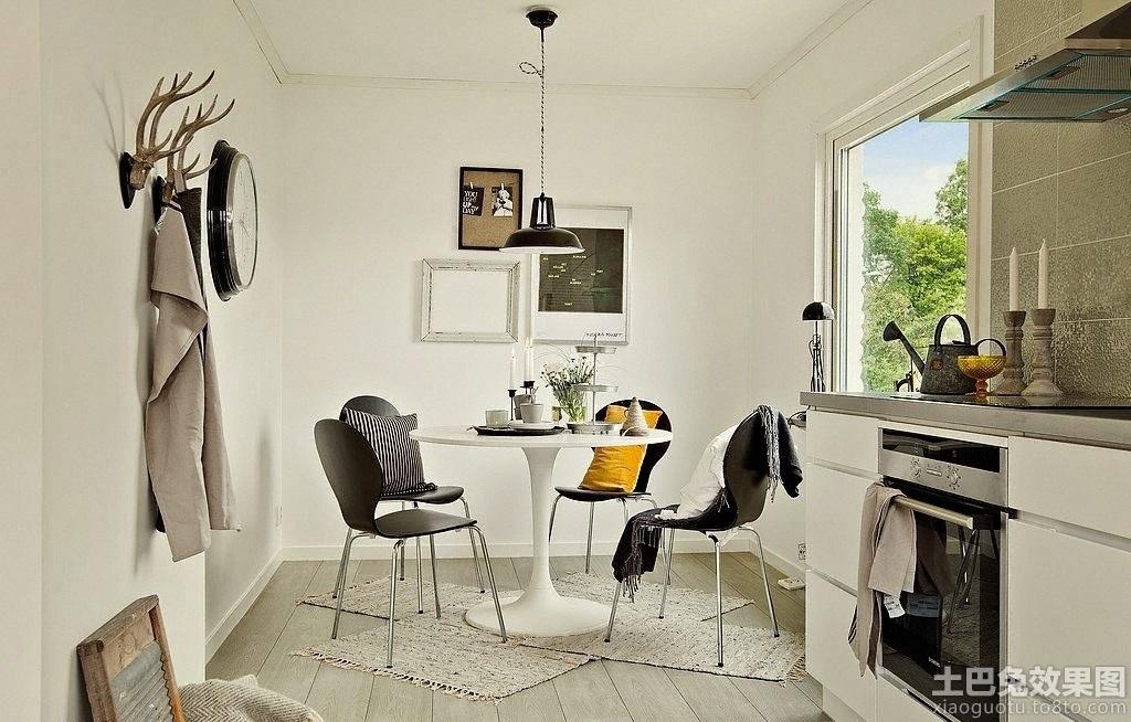 家居图库 北欧风格小复式房屋装修效果图 > 第6张图片