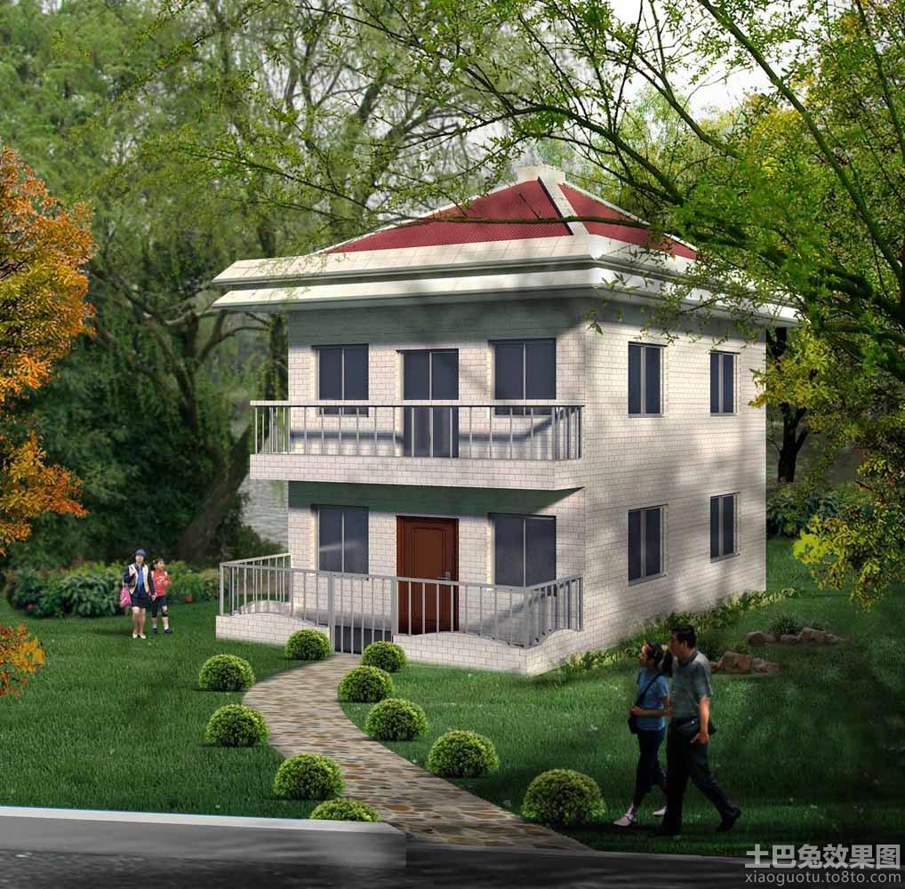 农村两层房子设计效果图装修效果图