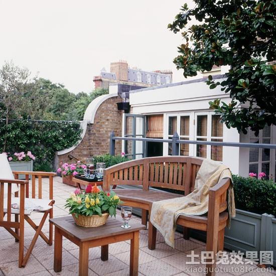 楼顶花园设计装修效果图 第9张 家居图库 九正家居网