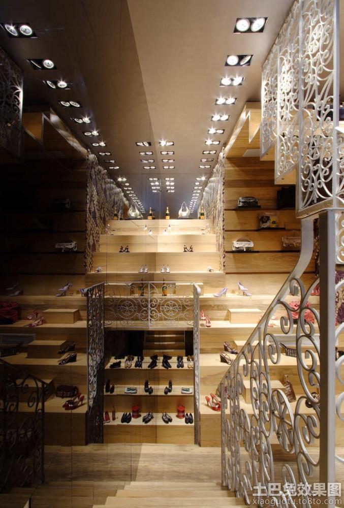个性鞋店装修设计图装修效果图