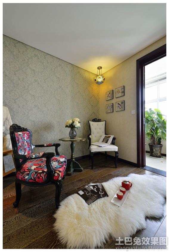 老上海风格二居室内装修效果图