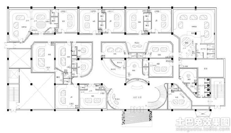 ktv设计平面图装修效果图 第8张 家居图库 九正家居网