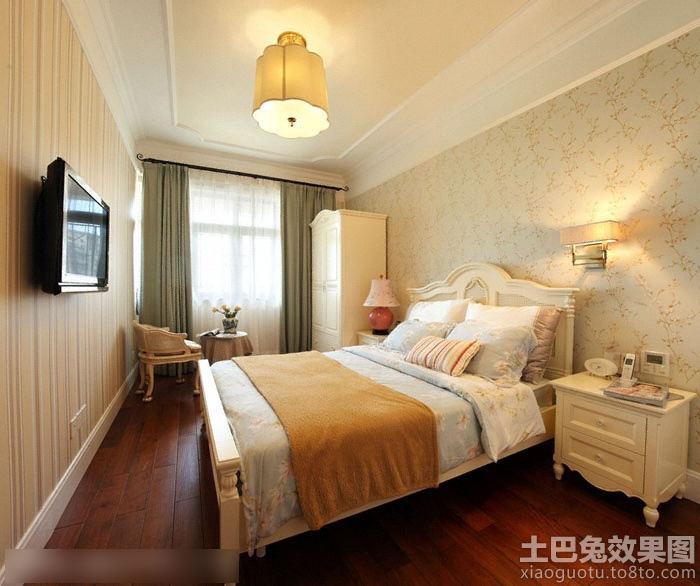 长方形欧式卧室装修效果图装修效果图