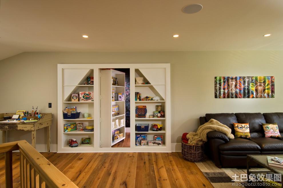 复式楼客厅壁柜装修效果图 (5/8)图片
