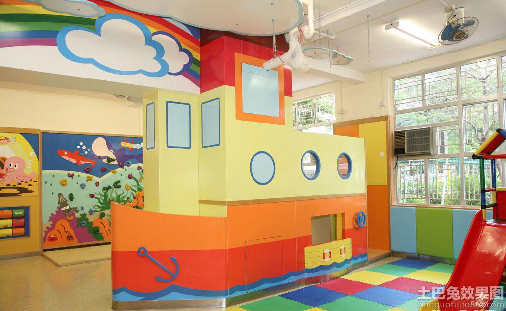 彩色幼儿园环境布置图片大全装修效果图_第3张 - 家居