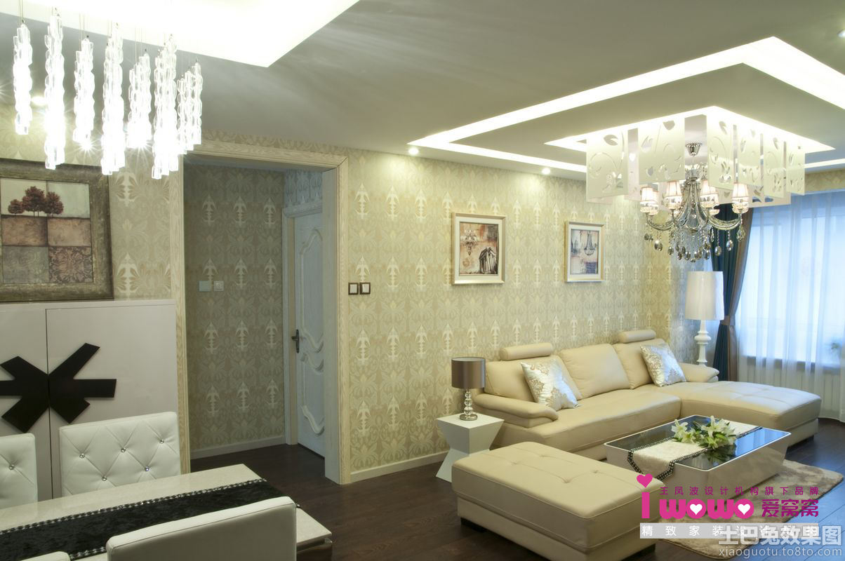 现代简约50平米小户型装修效果图装修效果图 第6张 家居图高清图片