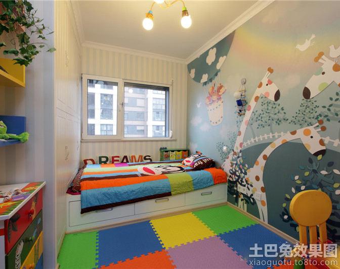 宜家風格兒童房間布置圖片_第3張 - 九正家居裝修效果
