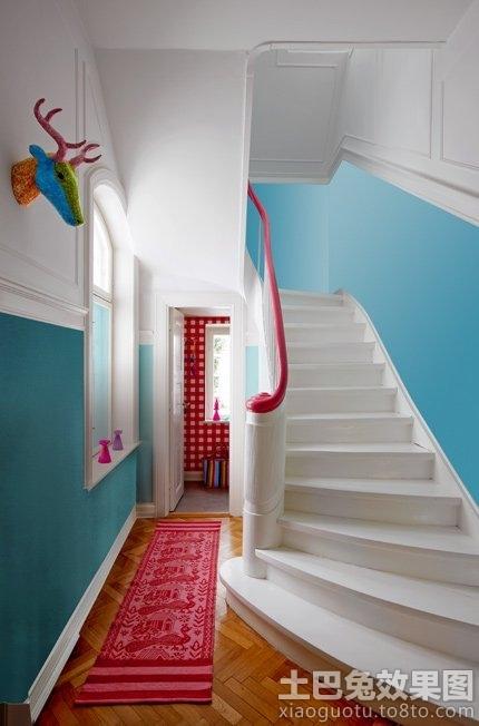 欧式别墅楼梯设计效果图欣赏装修效果图