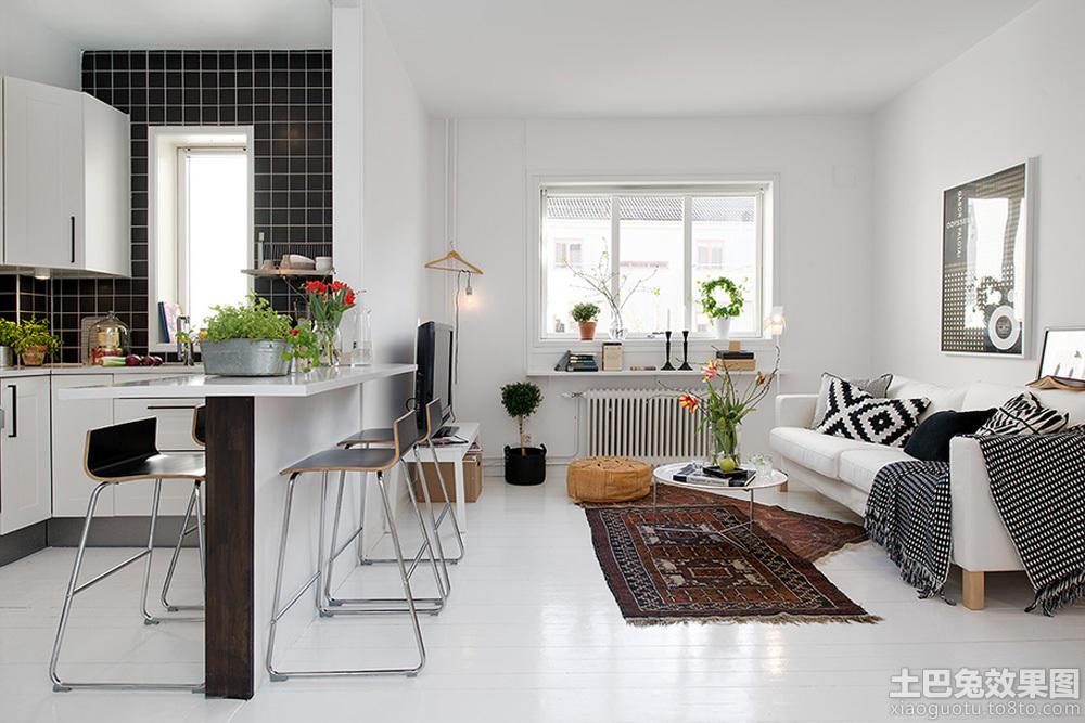 北欧风格小户型室内装修设计效果图 (10/13)