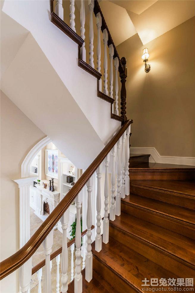 欧式楼梯扶手效果图装修效果图 第7张 家居图库 九正家居网