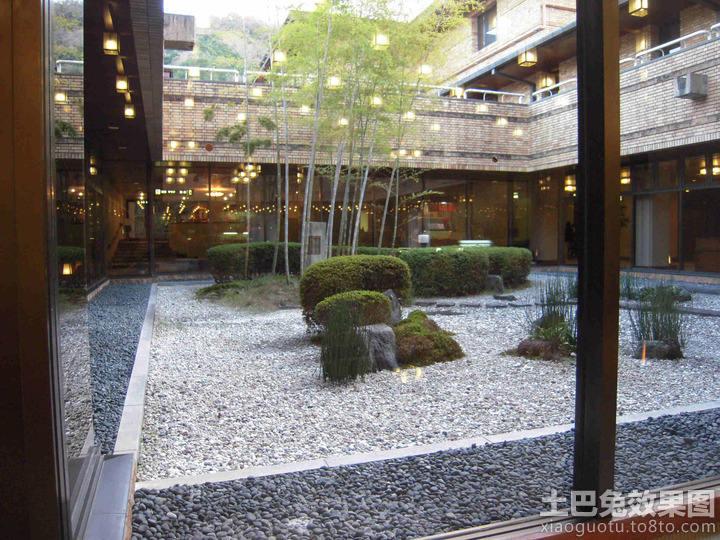 家居图库 中式风格中庭设计 > 第8张图片