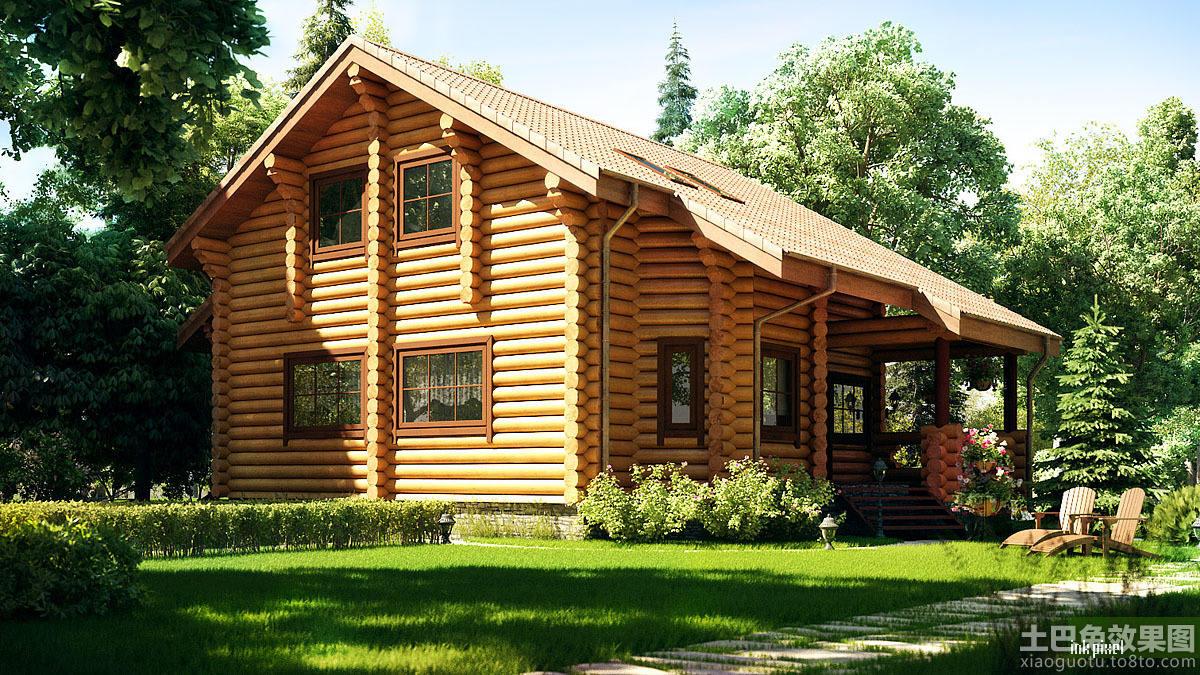 木结构房屋设计装修效果图