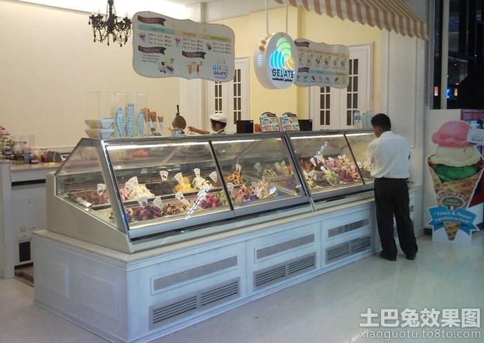 冰淇淋店装修图片装修效果图 第5张 家居图库 九正家居网