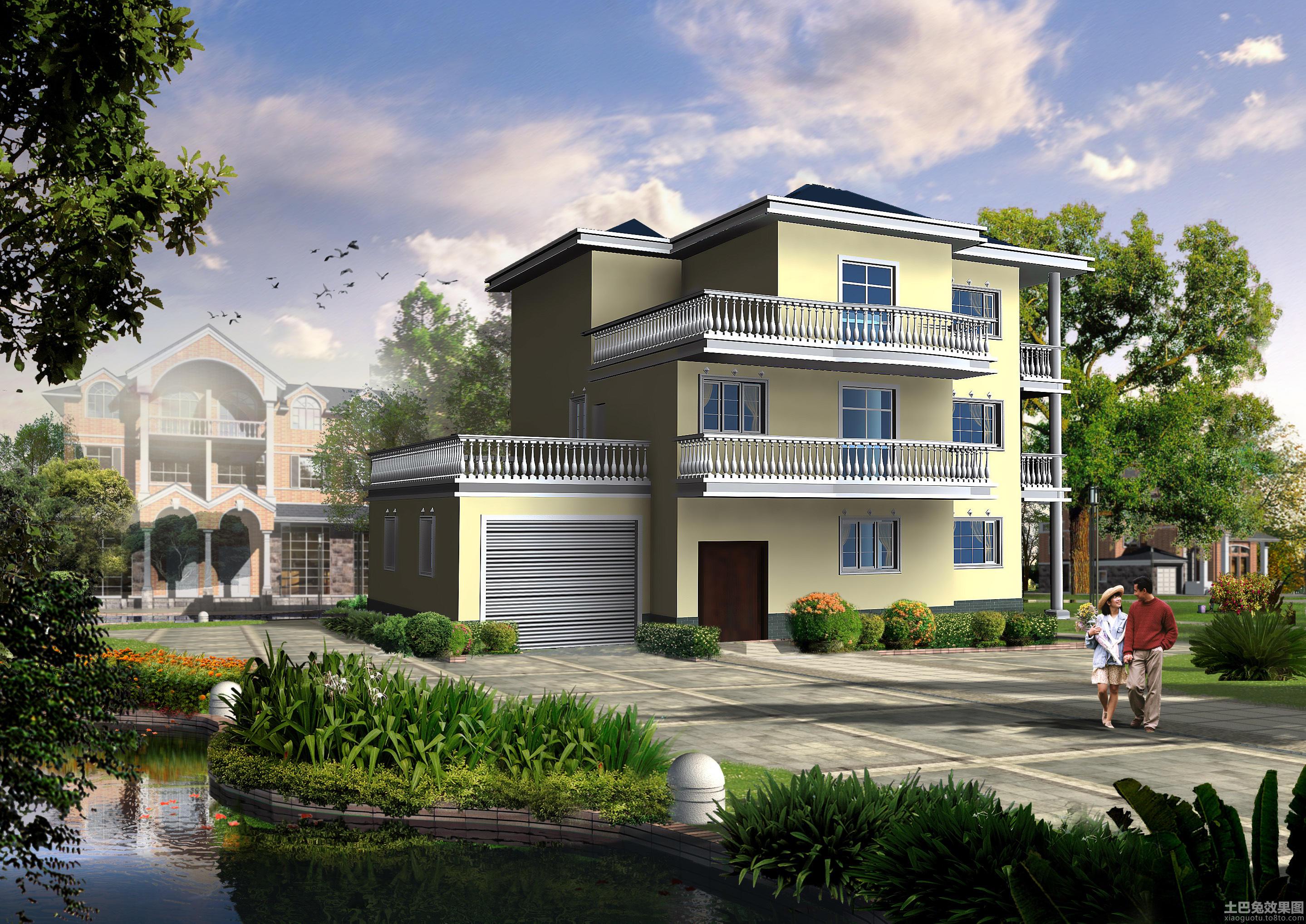 两层半农村自建房设计图 第12张 九正家居装修效果图