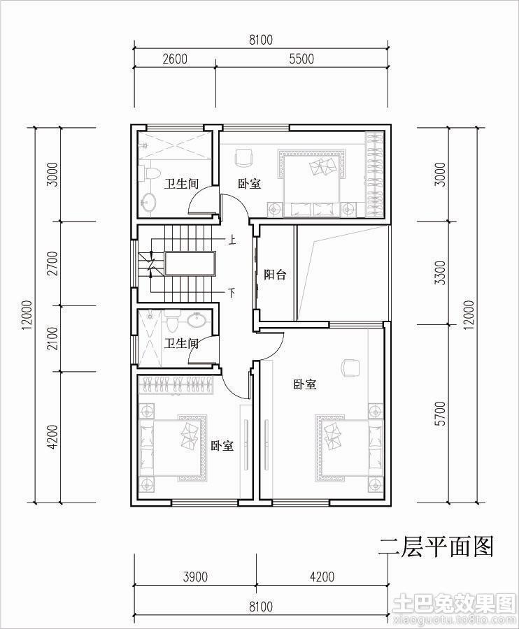 两层农村自建房设计图 (9/12)