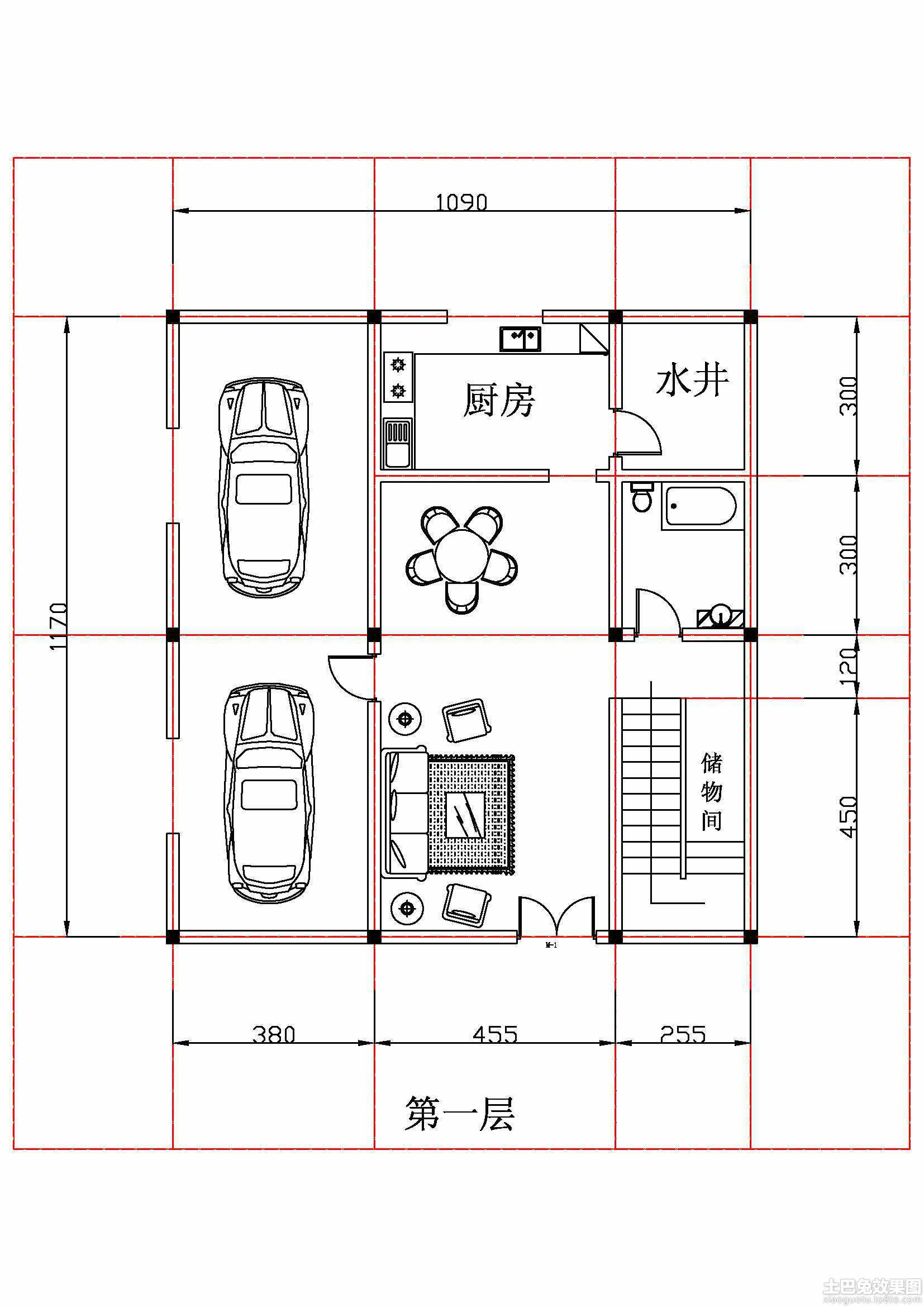 2014农村自建房设计图