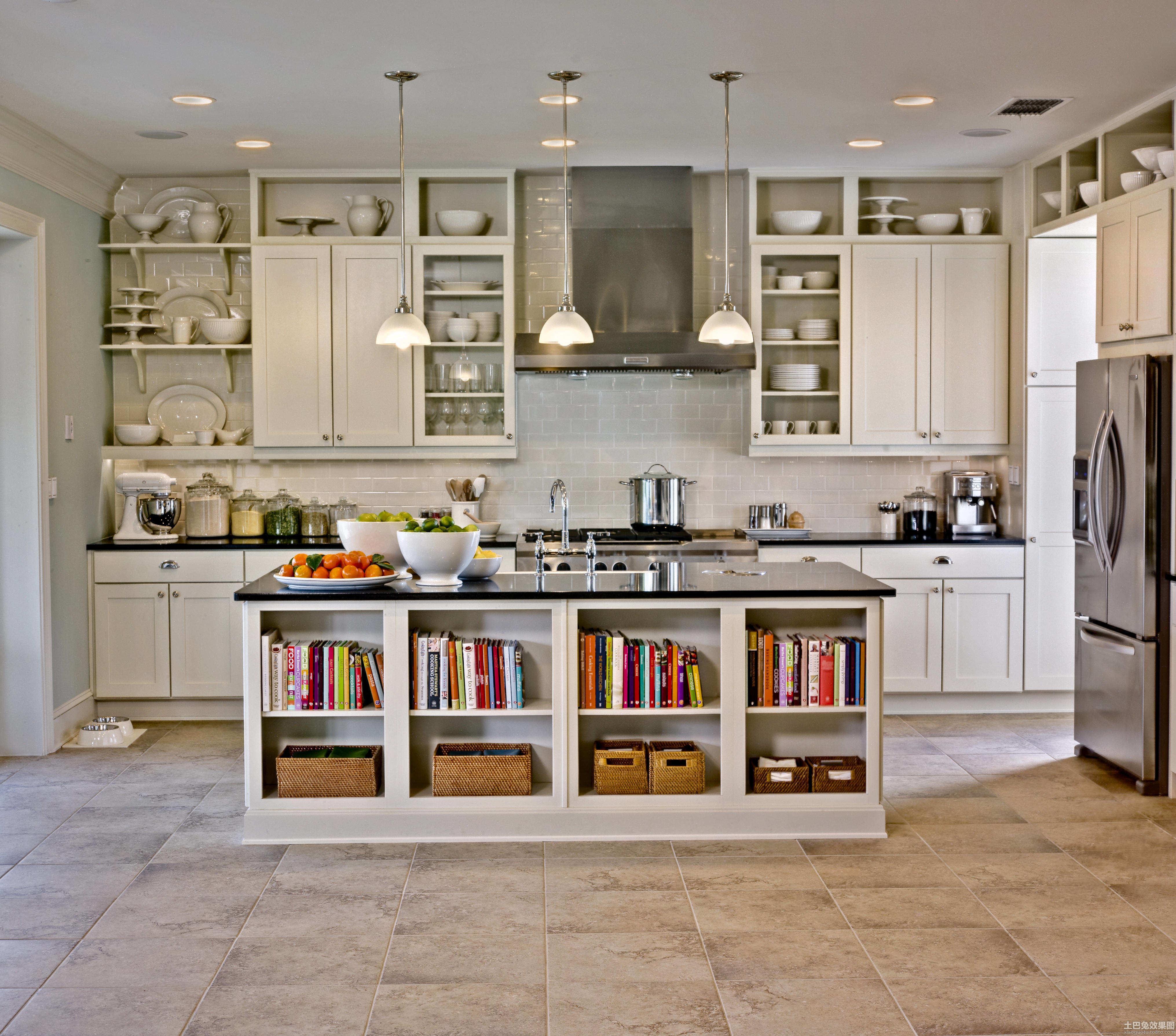混搭厨房装修设计图片