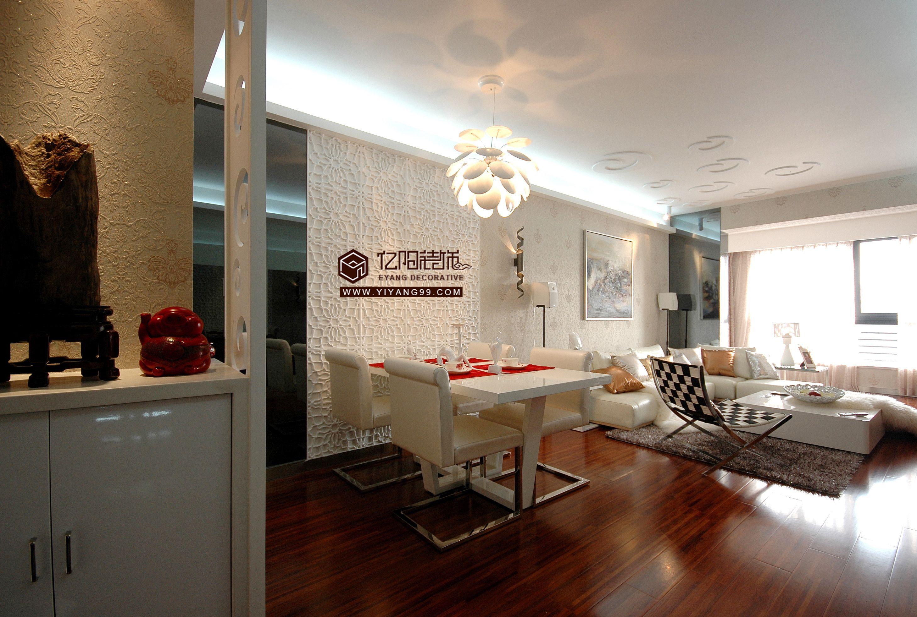现代简约两室一厅装修图装修效果图 第14张 家居图库 九正家居网