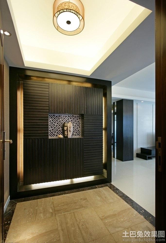 欧式别墅玄关墙面装修装饰_第5张 - 九正家居装修效果
