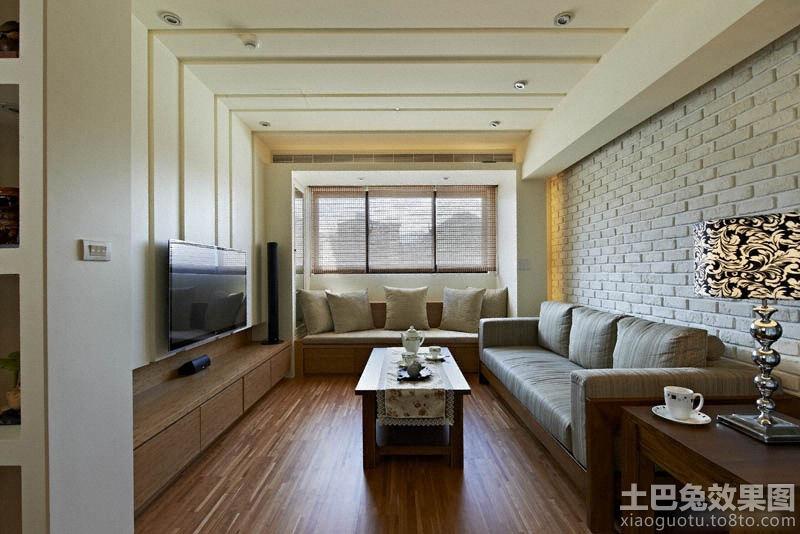 客厅文化砖沙发背景墙装修设计装修效果图