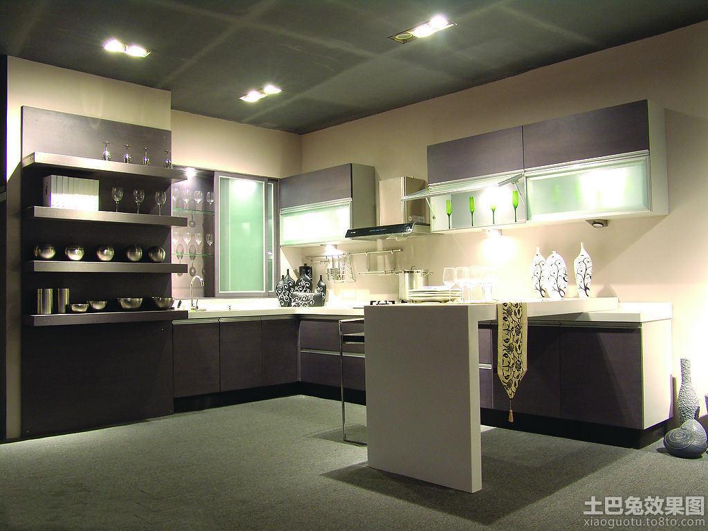 最新一体式厨房效果图 (5/10)图片