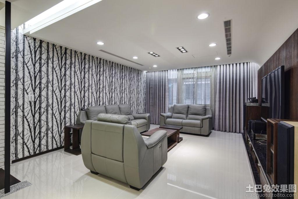 现代简装家庭客厅装修效果图 (7/8)图片