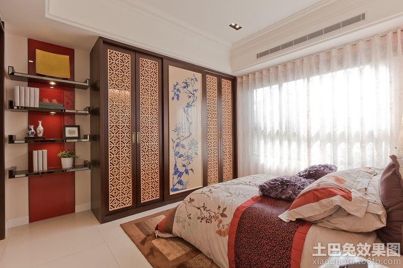 新中式家装卧室衣柜装修效果图装修效果图