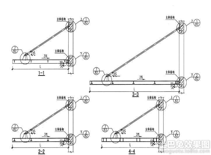 钢结构雨棚设计图集装修效果图