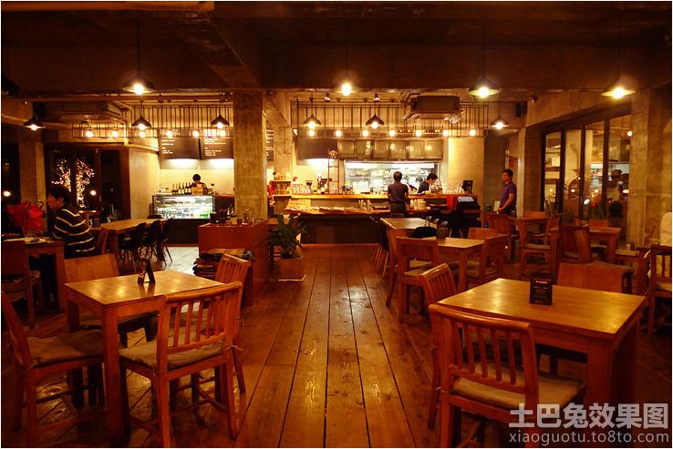 家居图库 美式咖啡店装修效果图 > 第4张图片