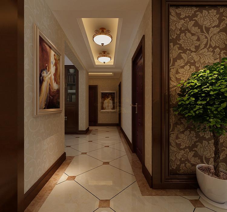 古典欧式室内过道吊顶装修效果图装修效果图 第4张 家居图高清图片