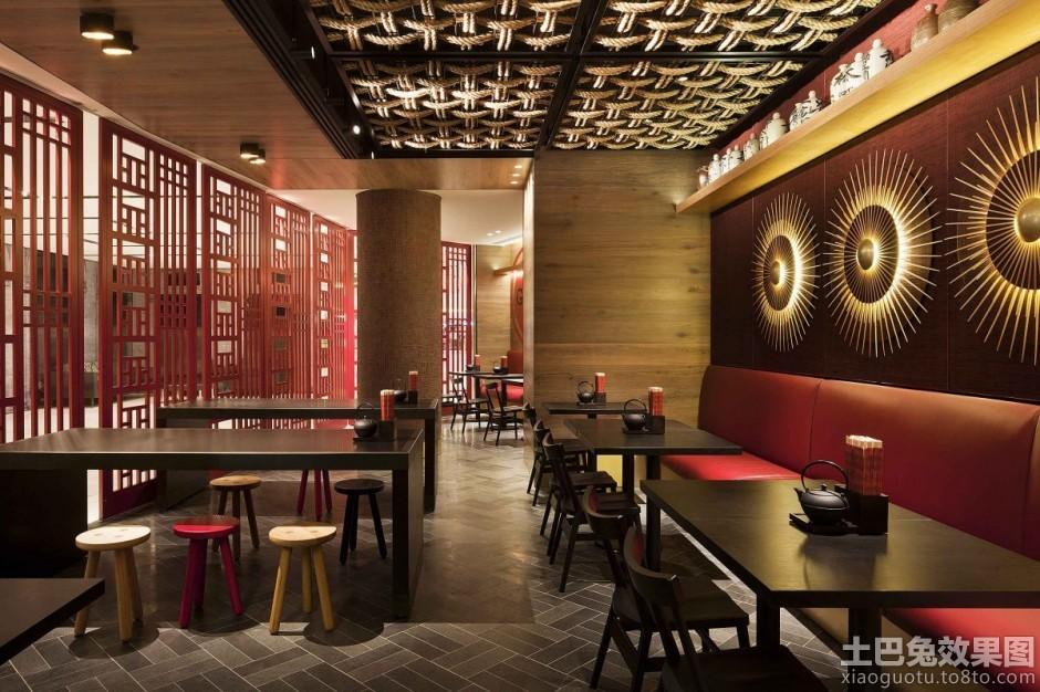 代中式餐饮店面装修装修效果图 第2张 家居图库 九正家居网高清图片