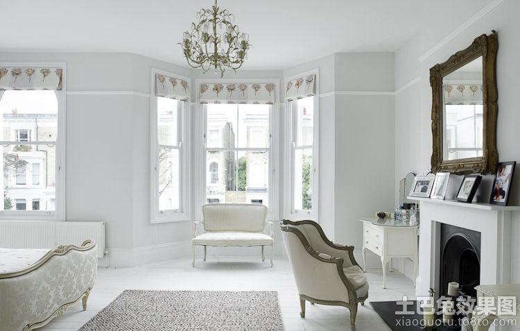 欧式两室两厅室内装修装修效果图