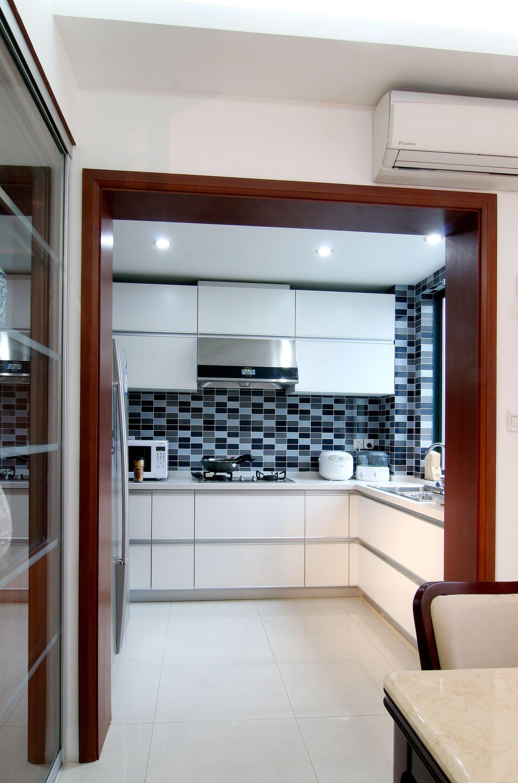 新中式家居厨房装修效果图