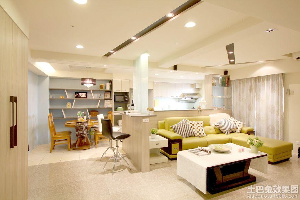 简约时尚50平米小户型装修效果图装修效果图 第9张 家居图高清图片
