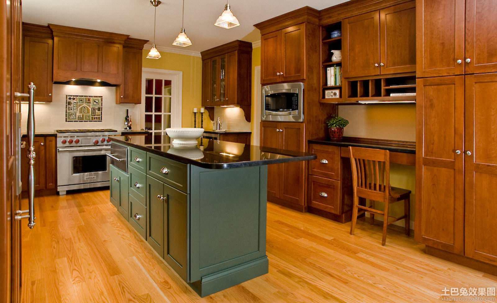 意大利风格一体式大厨房设计图片 (6/10)图片