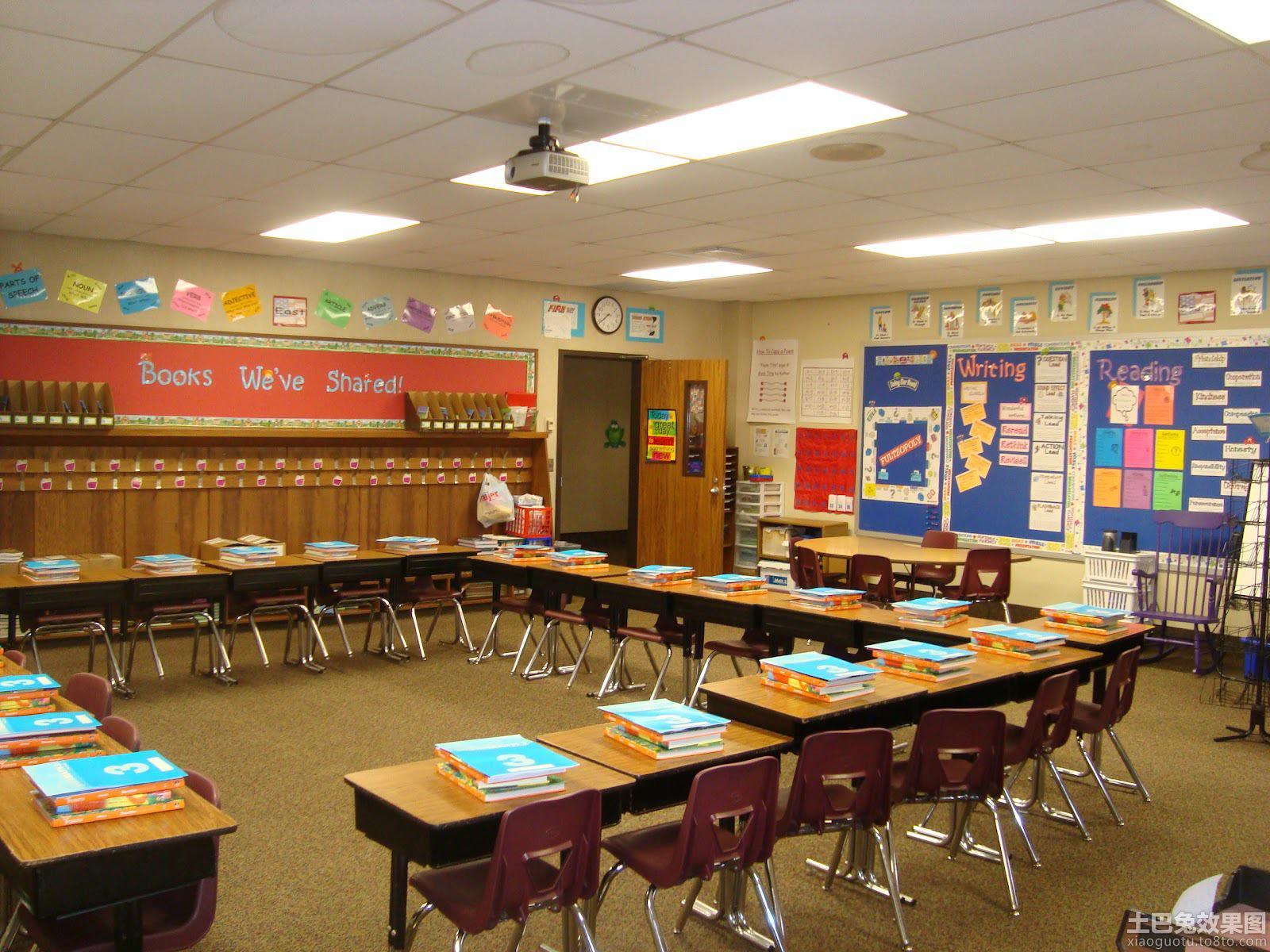 中学布置教室图片装修效果图 第6张 家居图库 九正家居网图片