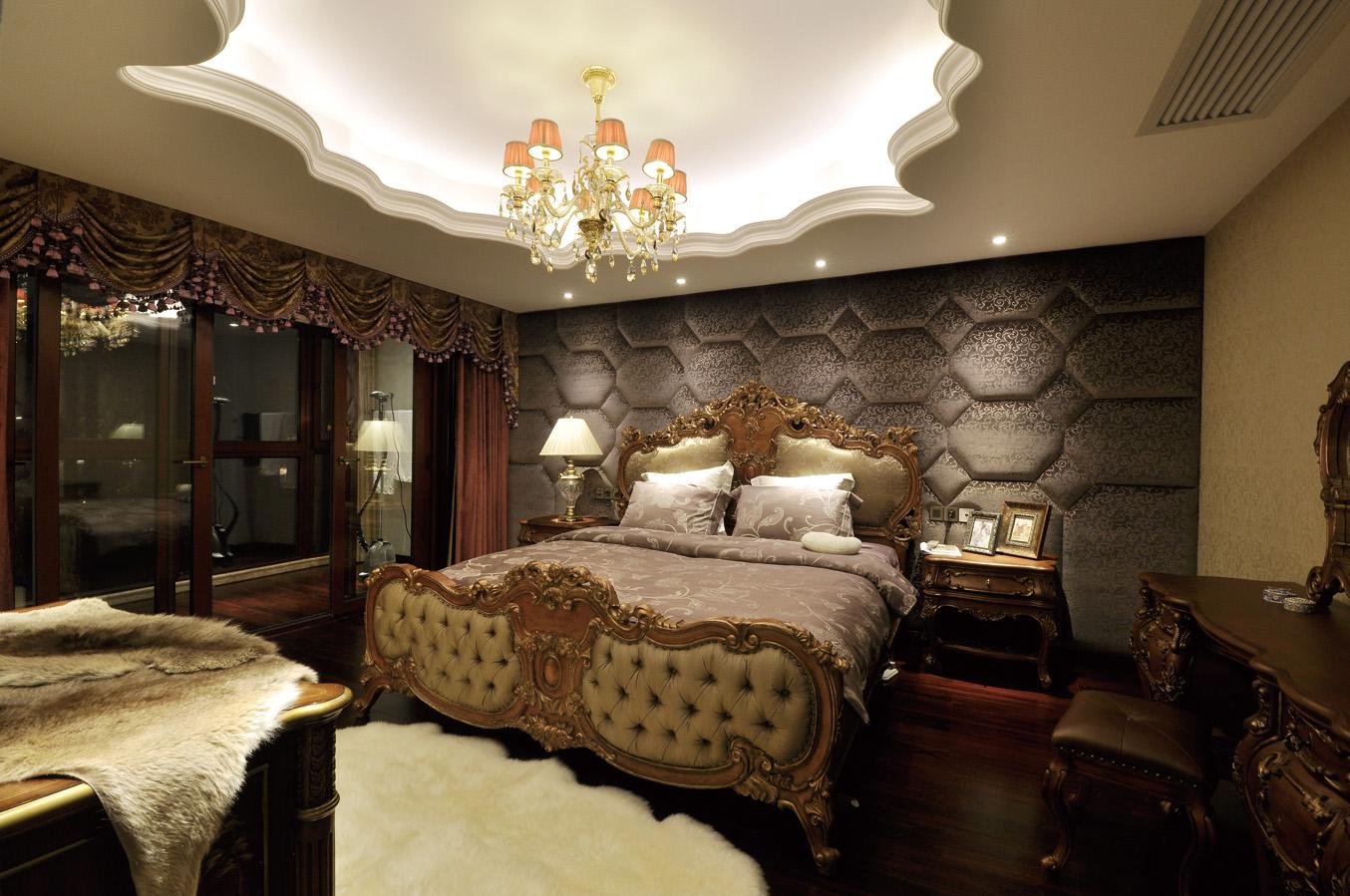 20平米欧式古典风格卧室装修效果图 (2/7)图片