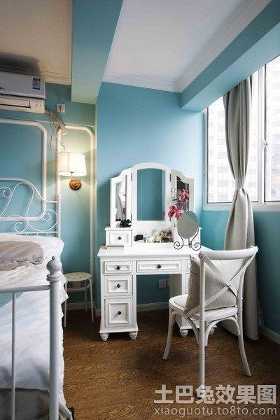 简欧式卧室梳妆台图片装修效果图