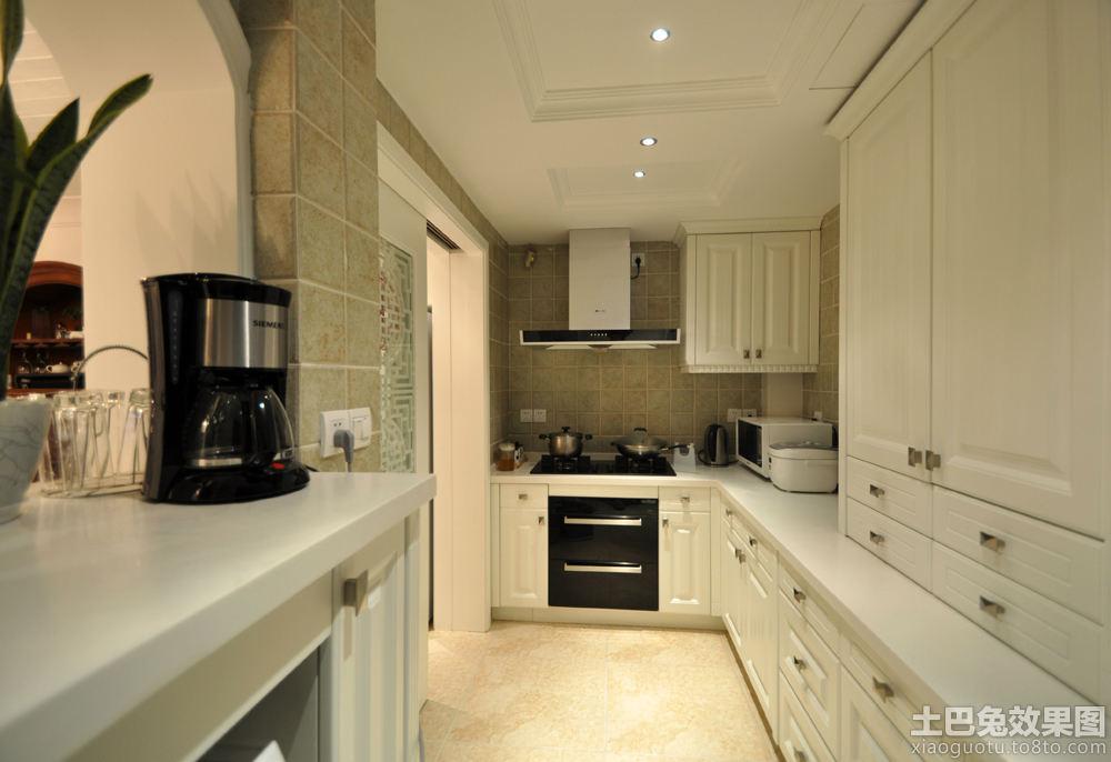 欧式家居厨房整体装修装修效果图