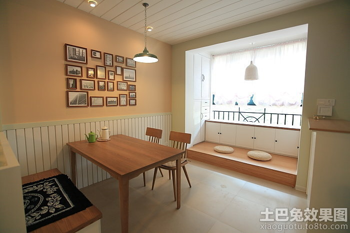 日式简约风格50平米小户型装修效果图装修效果图 第6张 家居图库 九