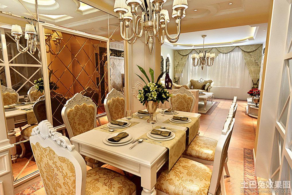 欧式豪华西餐厅设计效果图大全装修效果图 第5张 家居图库 九正家居网高清图片