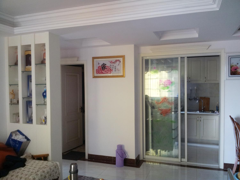 家居图库 现代欧式小户型客厅电视背景墙装修图大. > 第1张