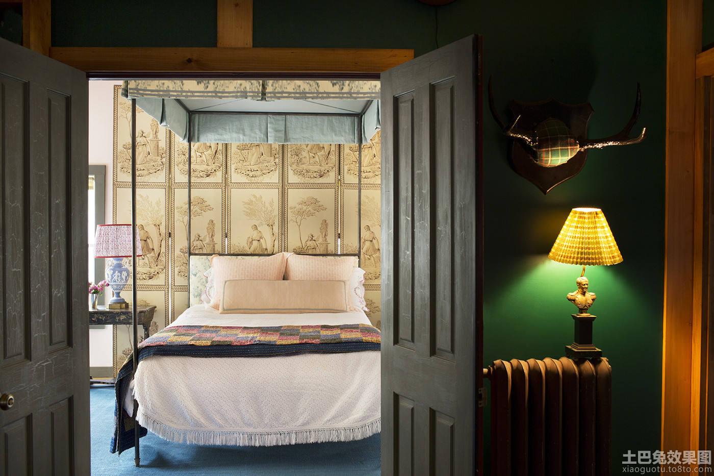复古风格卧室门设计图片大全装修效果图_第1张 - 家居