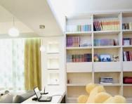 30个榻榻米书房设计效果图 浪漫实用小空间