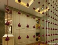 欧式餐厅灯池吊顶效果图