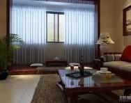 中式三居书房装修效果图
