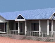 新农村平房屋设计图