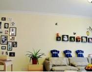 简约地中海两室一厅装修效果图
