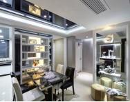 现代简约两室两厅客厅装修实景图
